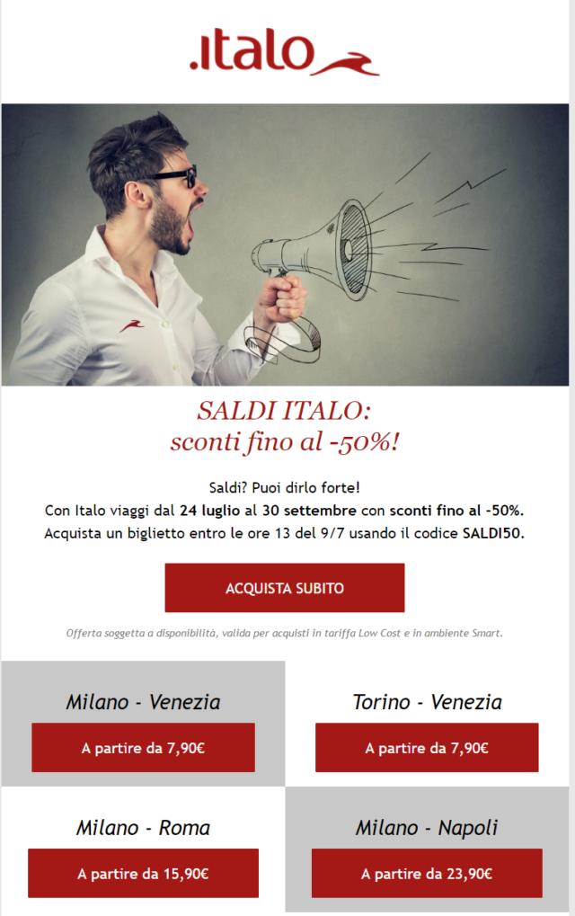 Italo newsletter