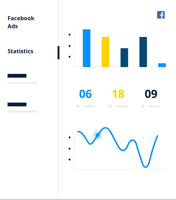 Statistiche campagna Facebook
