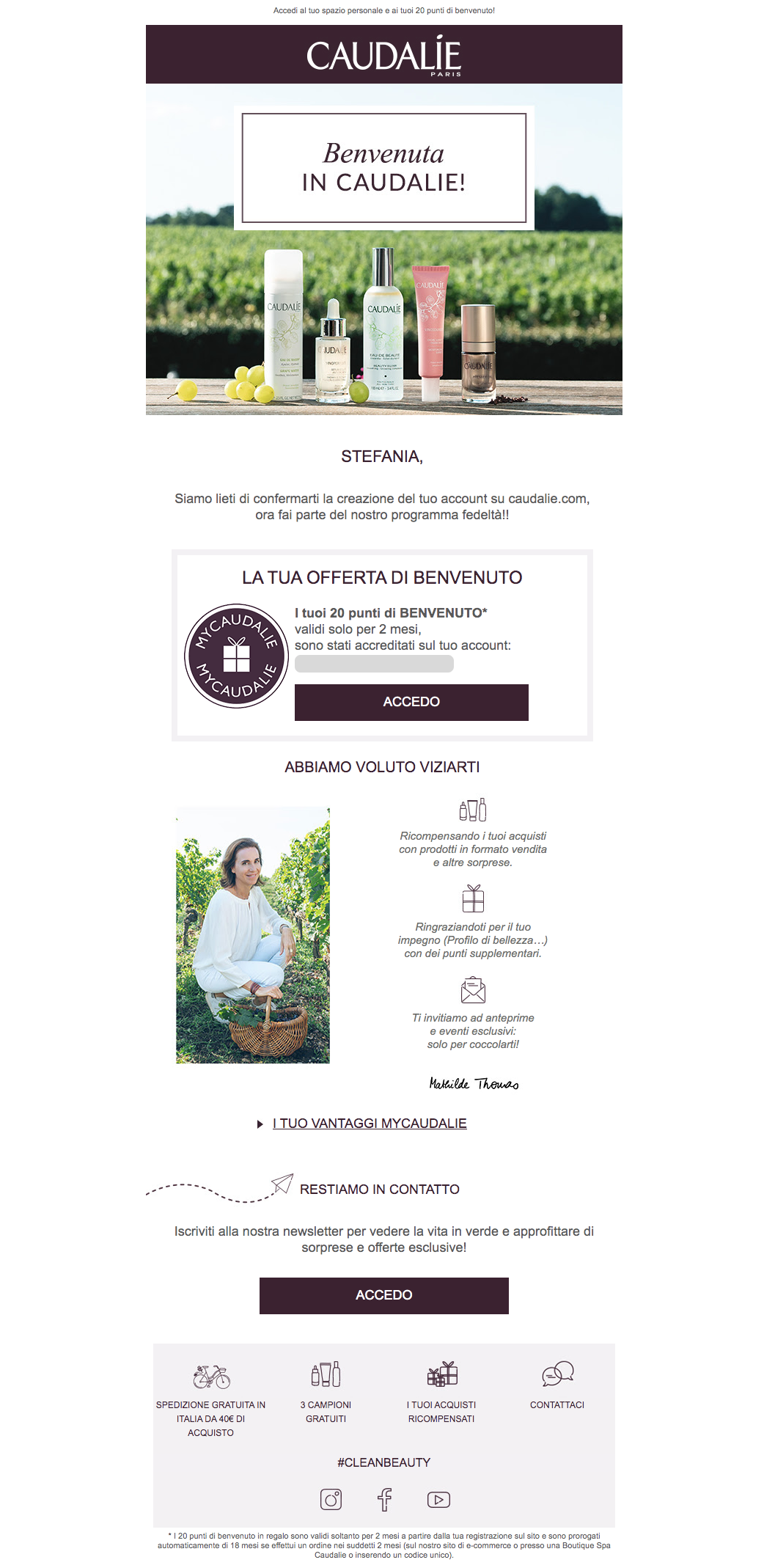 Welcome-email-Caudalie