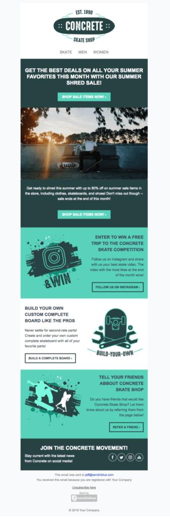 template-ecommerce-skate-newsletter-template