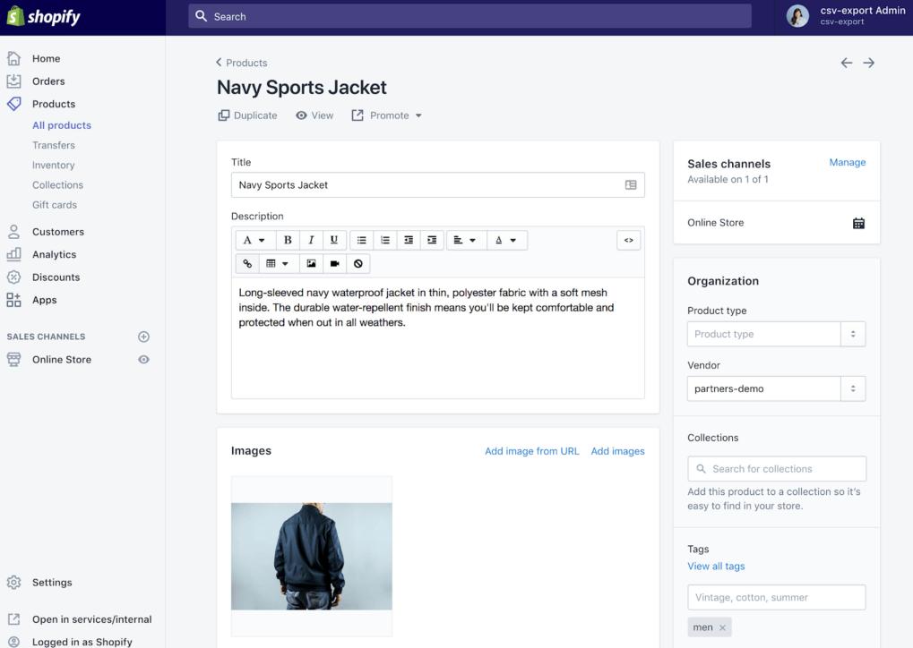 Shopify-prodotti-ecommerce