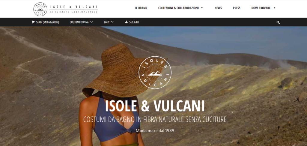 isole&vulcani-esempio-ecommerce
