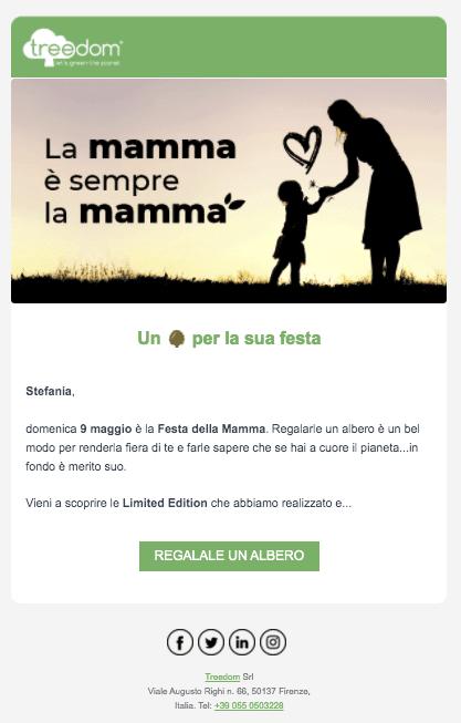 esempio_newsletter_treedom_festa_della_mamma