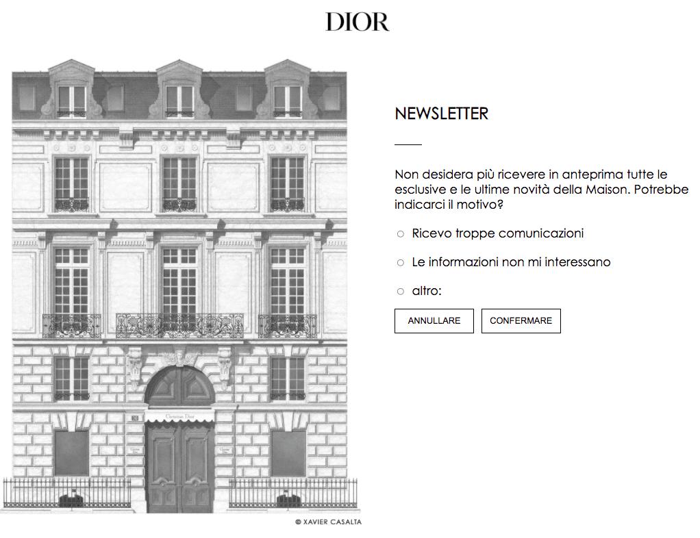 cancellazione_newsletter_dior