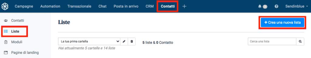creazione_nuova_lista_contatti_sendinblue