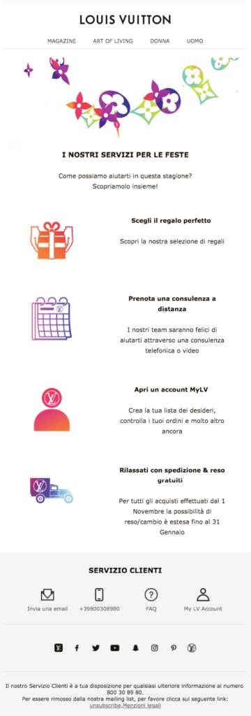 esempio-newsletter-di-natale-louis-vuitton